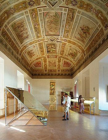 Este Castle of Ferrara, The Hall of the Games