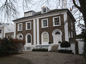 Castelnau, London - Classical housing in Castelnau