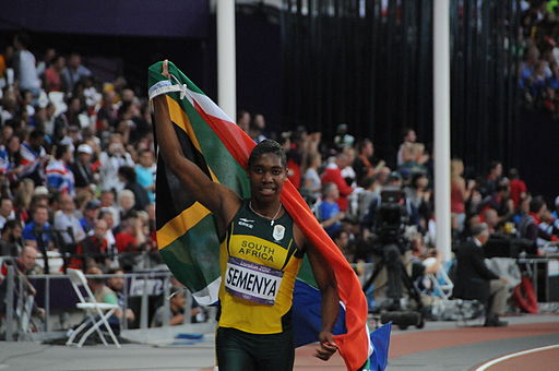 Caster Semenya London 2012