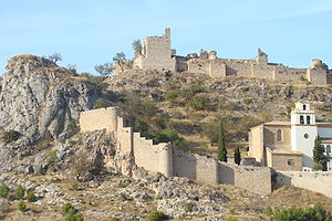 Battle of Moclín (1280) - The castle at Moclín.