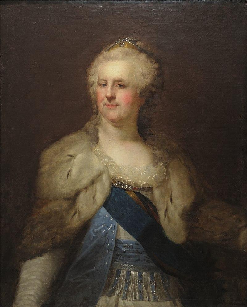 Catherine II Empress of Russia by Johann Baptist Lampi the Elder.jpg