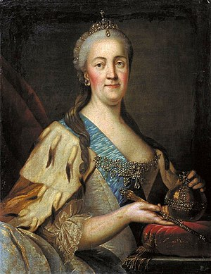 Grigory Potemkin - The Empress Catherine at around the same time