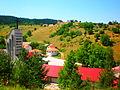 Catholic church and Fortress Glamoč.JPG