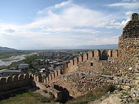 Caucasus from the Gori Fortress 27.jpg