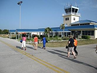 Charles Kirkconnell International Airport - Image: Cayman Brac Airport