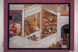 Celebrations of Krishna's birth
