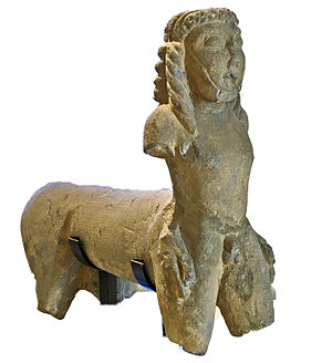 Centaur of Vulci - Centaur of Vulci, National Etruscan Museum, Villa Giulia, Rome.