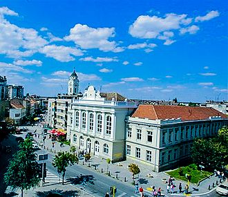 Smederevo - Image: Center Smederevo