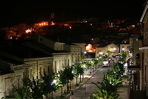 Cerami - Image: Cerami Corso Roma