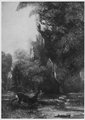 Cerf aux abois by Courbet coll. Werner Herold.png