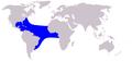 Cetacea range map Clymene Dolphin.png