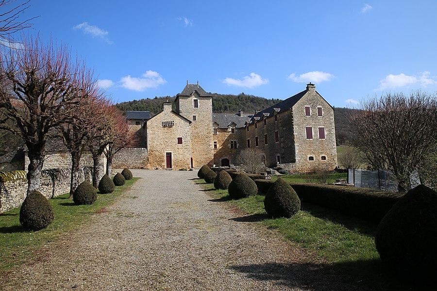 Château d'Auberoques depuis son entrée