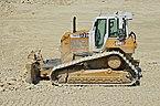 Châtignac 16 Travaux LGV Bulldozer Caterpillar 2013.jpg