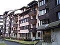 Chamonix-Mont-Blanc -- Le village piéton de Chamonix-Sud (Jonquille).JPG
