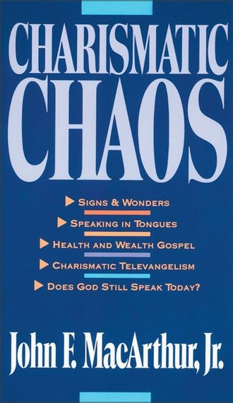 John F. MacArthur - Charismatic Chaos - one of the books where MacArthur argues for cessationism.