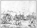 Charles-Alexandre Steinhäuslin 14 - Bivouac du bataillon Kistler devant Ruswil (23.-24.11.1847).jpg