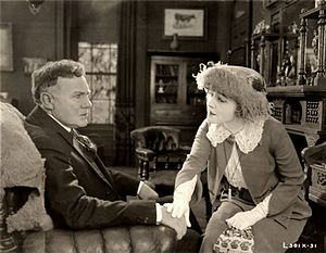 Beyond (1921 film) - Charles K. French and Ethel Clayton in a scene from Beyond (1921)
