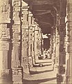 Charles Moravia (British - (Interior of the Hindoo Temple in Kootub) - Google Art Project.jpg
