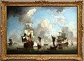 Charles brooking, una nave da guerra inglese spar a salve, 1750-59 ca. 01.jpg