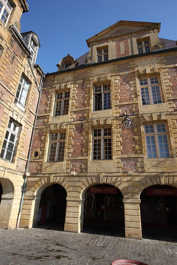 Monument historique à Charleville-Mézières
