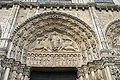 Chartres Cathedral Royal portal Central Bay Tympanum 2007 08 31.jpg