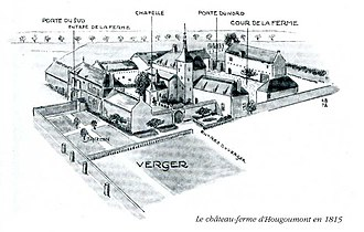 Hougoumont - The domain some 16 years before the Battle of Waterloo