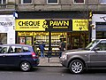 Cheque and Pawn - John William Street - geograph.org.uk - 1704449.jpg