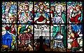 Cherbourg Église Notre-Dame du Vœu Transept Sud Vitrail de la Charité Détail 2017 08 20.jpg