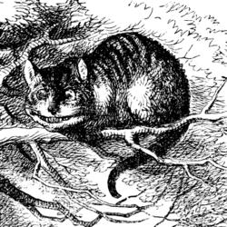 [Immagine: 250px-Cheshire_Cat_Tenniel.png]