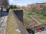 Chester's City Walls - Bridgegate to Eastgate ^9 - geograph.org.uk - 372415