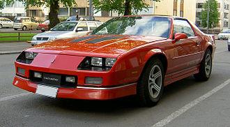 Chevrolet Camaro (third generation) - Camaro IROC-Z