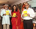 Chief Minister of Goa Sh. Digambar Kamat with Director,DFF Ms. Neelam Kapur releasing a book on'National Films Archives of India' on Nov.27,2007 at IFFI, Panaji Goa.jpg