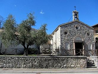 Gemona del Friuli - Ognissanti church, Ospedaletto, one of Gemona subdivisions.