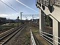 Chikuhi Line from platform of Susenji Station.jpg