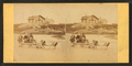 Children in goat cart on beach, from Robert N. Dennis collection of stereoscopic views 8.png