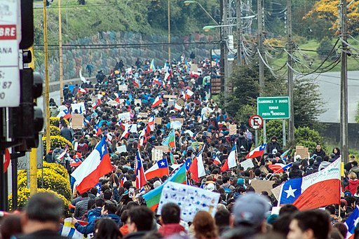 Chilean Protests 2019 Puerto Montt 12