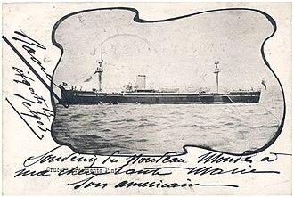 "Chilean cruiser Presidente Pinto (1890) - Image: Chilean navy cruiser ""Presidente Pinto"" (ca. 1890)"