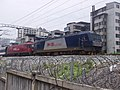China Railways HXD3C 0927 and China Railways HXD3D 0061 with T5 Through Train 20140630 01.JPG