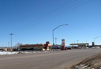 Chinle, Arizona - Image: Chinlea&w