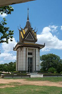 Killing Fields Locations of mass killings in the Cambodian genocide