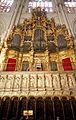 Choir organ of the Cathedral of Toledo.JPG