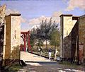 Christen Købke - The North Gate of the Citadel.jpg
