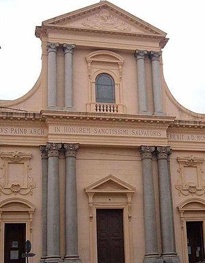 Roman Catholic Archdiocese of Messina-Lipari-Santa Lucia del Mela - Image: Church Messina Chiesa di San Salvatore