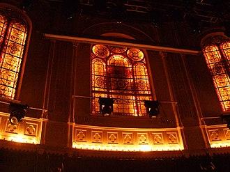 Paradiso (Amsterdam) - The church windows of the Paradiso