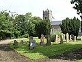 Church and graveyard at Clonevan - geograph.org.uk - 1471316.jpg