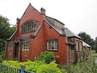 Garden City, Flintshire - Image: Church building, Garden City, Flintshire (2)