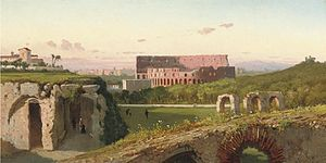 Henryk Cieszkowski - Image: Cieszkowski Widok na Colosseum