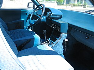 Citroën CX - Series 1 dashboard