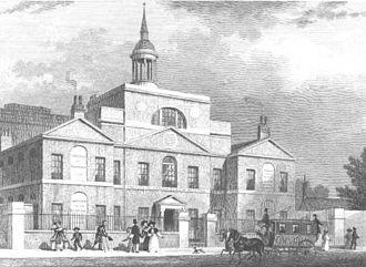 Robert Mylne (architect) - City of London Lying-in Hospital, 1770–1773