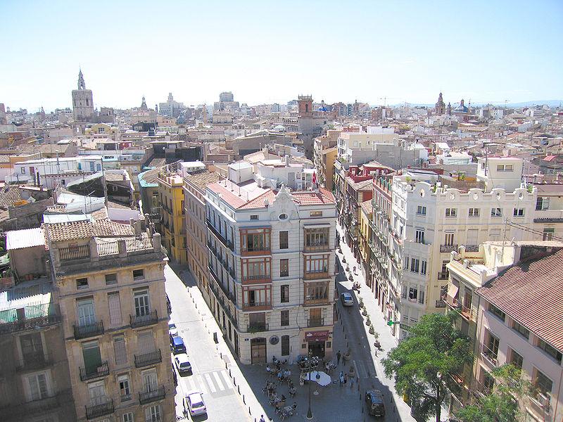 Valensiya Şehrinin tarihi merkezi olan Eski Şehir (Ciutat Vella)